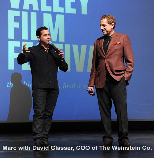 David Glasser and Marc Lhormer at the 2015 NVFF