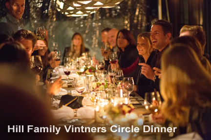 The Hill Family Vintners Circle Dinner at 2015 NVFF