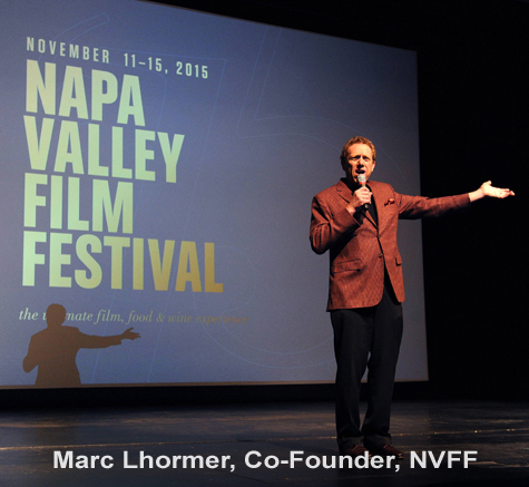 Mark Lhormer kicking off the 2015 NVFF