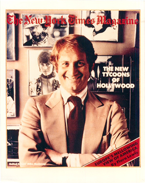 Mike Medavoy The New York Times Magazine Cover